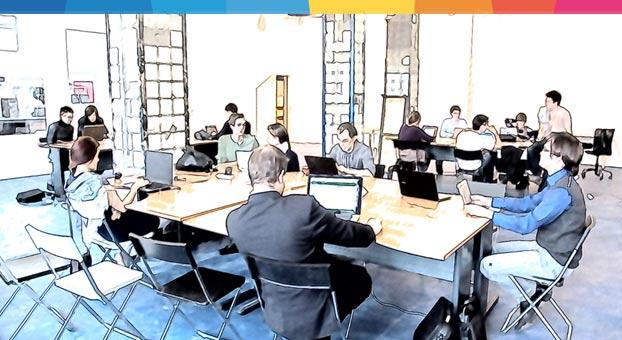 Coworking la guida danea per aprire un ufficio condiviso for Uffici condivisi