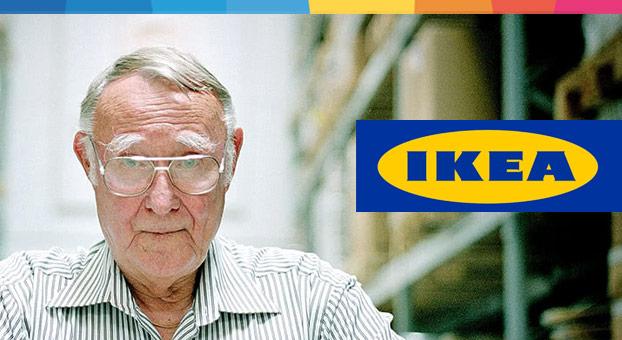 Ingvar Kamprad diventare imprenditori di successo