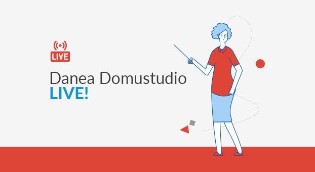 Le lezioni in diretta su YouTube per i clienti Domustudio