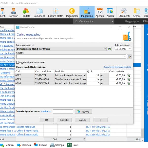 Software Gestione Magazzino Easyfatt Danea