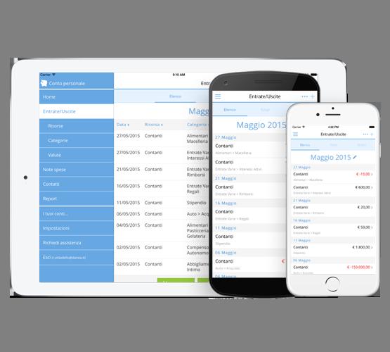 Numilia app mobile l 39 app per la gestione delle spese - Spese familiari ...